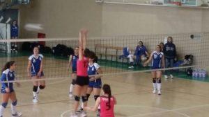 1^ Divisione Femminile: le ultime azioni del quarto ed avvincente match,poi la festa per la Serapo Volley. A cura di Antonio D'Ovidio
