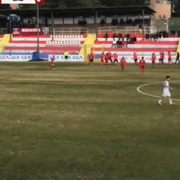 Atletico Lodigiani – Gaeta: le azioni salienti e la rete decisiva di Marciano.