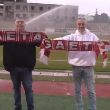 "ASD Gaeta 2010 – Ausonia: l'appello dei tifosi della ""Vecchia Guardia"". Fonte: ASD Gaeta 2010, Vito Coppola."