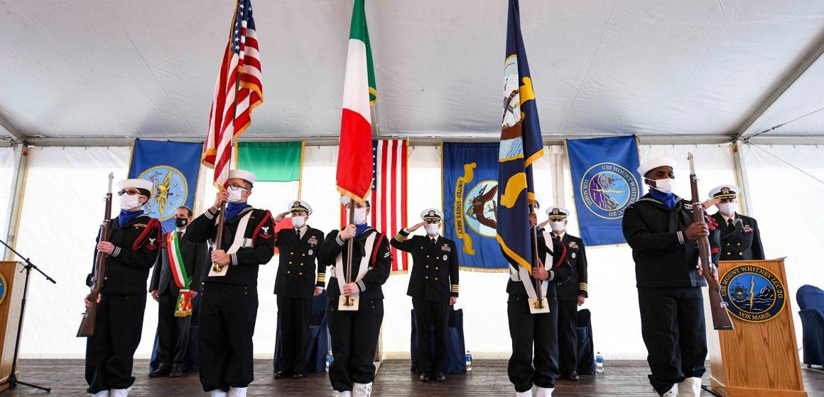 Si rafforza il legame tra la città di Gaeta e la Marina degli Stati Uniti d'America