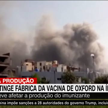 Il video dell'Incendio scoppiato al Serum Institute: sito per la produzione del vaccino Covishield