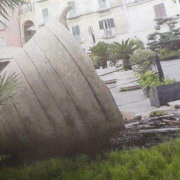 Piazza Bonelli, c'era una volta l'anfora