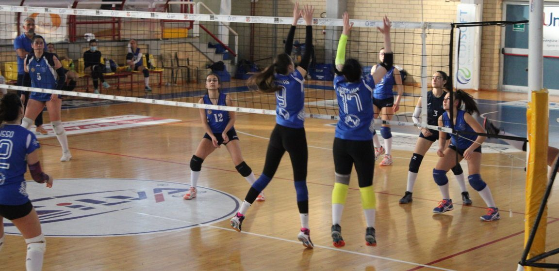 Il Consorzio Golfo Pontino Volley perde 3 – 0 contro la Del Prete Virtus Volley Latina