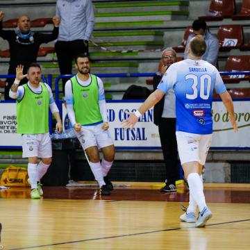 Ecocity Futsal Genzano rinvia la festa dello Sporting Sala Consilina