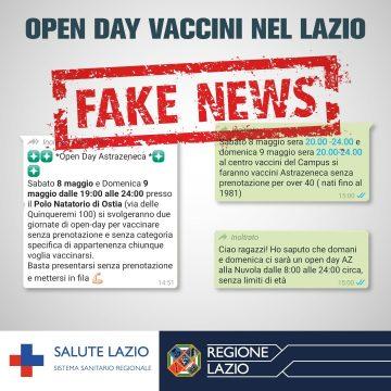 Vaccini a Formia: ennesima Fake News