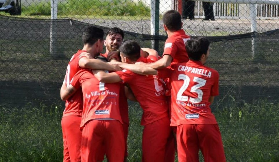 Serie D, Girone G: Pari e patta nel recupero
