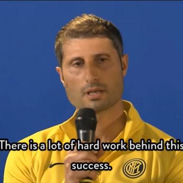 L'Inter festeggia lo scudetto, parla il gaetano Stefano Bruno