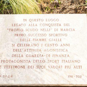 Roma Capitale e le Fiamme Gialle svelano il restauro della targa commemorativa a Ponte Milvio