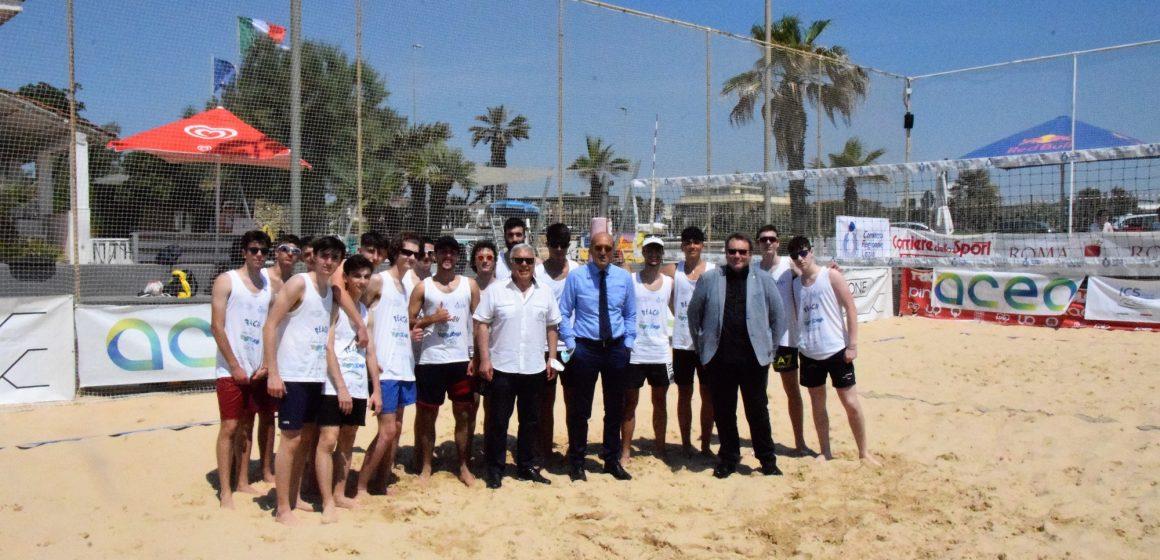 Beach Volley Scuola-Trofeo Acea: alla Pinetina di Ostia trionfano le coppie del Democrito e del Labriola