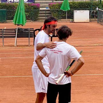 Tutto ancora da decidere per il Circolo tennis Gaeta nella prima fase del campionato a squadre di Serie B1