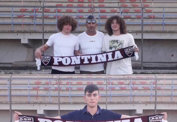 Tris di giovani per il Pontina Calcio