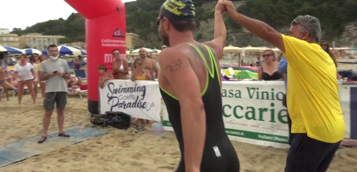 """Swimming Paradise, con Ruffini """"traguardo mondiale"""""""