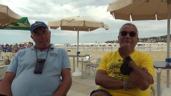 Swimming Paradise Backstage con Elio Mare e Gigi Ridolfi incontenibili e poi…