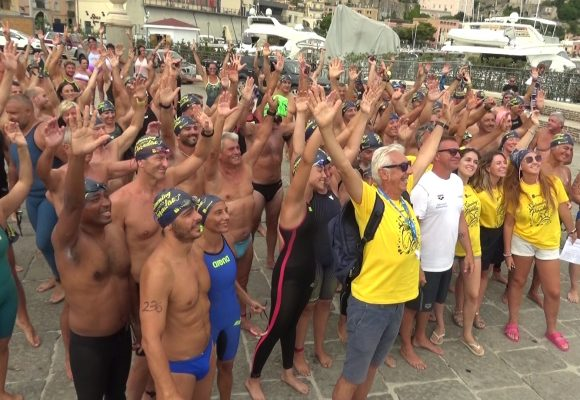 Swimming Paradise, partenza nel cuore di Gaeta Medievale