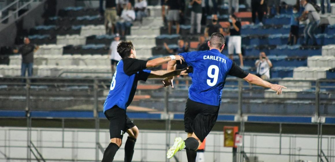 Latina: Carletti riaggancia l'Avellino, tra poco il 2° tempo in 11 contro 10…