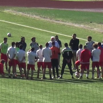 Gaeta: squadra a rapporto prima della trasferta a Colleferro