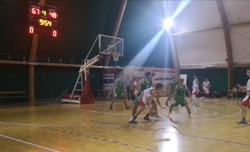 La Serapo Basket cade nella capitale